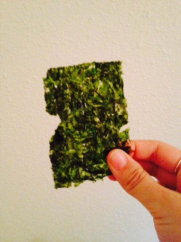 A piece of nori
